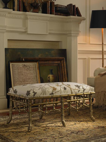 Century Furniture - Dover Rectangular Ottoman - 3908