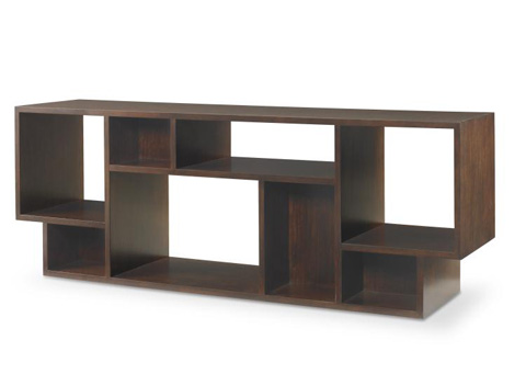 Image of Geometric Entertainment Bookcase
