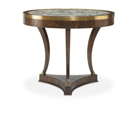 Image of Croix-Rousse Table With Stone Top
