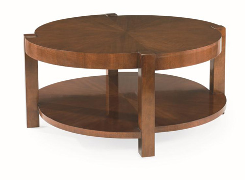 Century Furniture - Round Cocktail Table - 55H-608