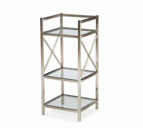 Image of Metal Bedside Stand
