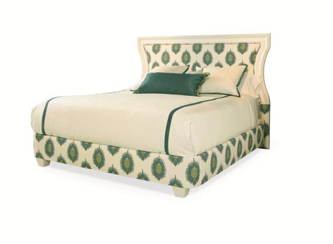 Century Furniture - Queen Scoop Wood Headboard - 88-190Q