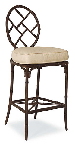 Image of Round Back Barstool
