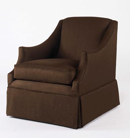 Century Furniture - Enzo Skirted Chair - ESN191-6SK