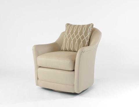 Century Furniture - Braxton Swivel Chair - LR-17164
