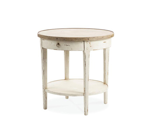 Image of Hannah Round End Table