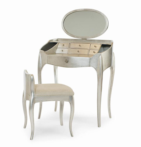 Image of Pierre Vanity With Mirror and Vanity Chair