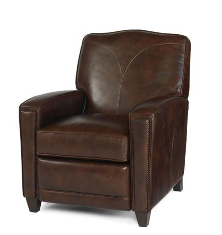 Century Furniture - Leather Recliner - PLR-5316-NUTMEG