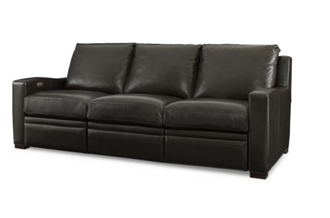 Image of Leather Sofa with Motion