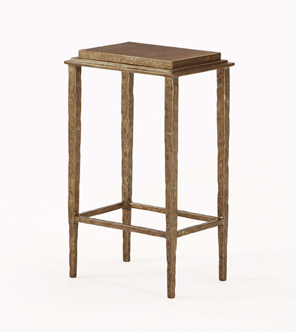 Century Furniture - Bronze Chairside Table - SF5153