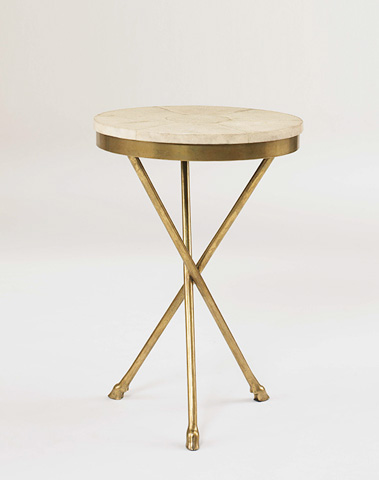 Century Furniture - Shagreen Top Accessory Table - SF5185