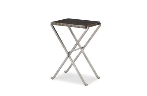Century Furniture - Leather Top Accent Table - SF5381