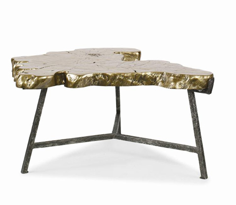 Century Furniture - Cast Stone Top Cocktail Table - SF5514