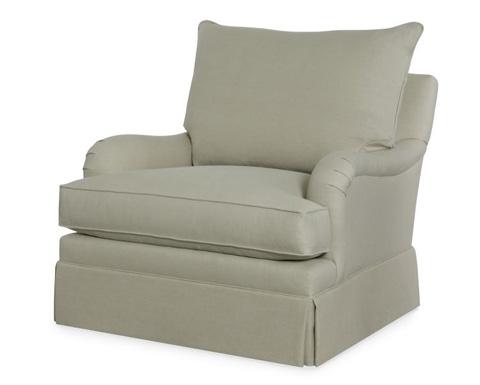 Century Furniture - Carter's Skirted Chair - TLTD9611-6SK