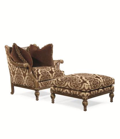 Century Furniture - Weston Ottoman - 33-929