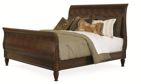 Century Furniture - Westbourne Sleigh Bed - 369-167