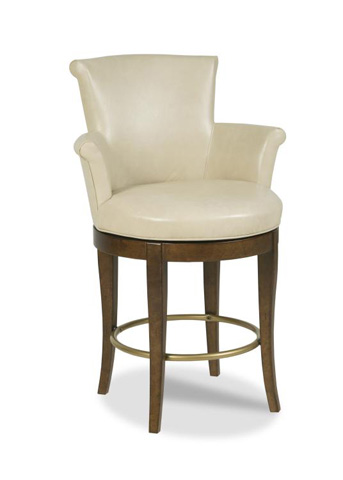 Image of Scroll Swivel Counter Stool