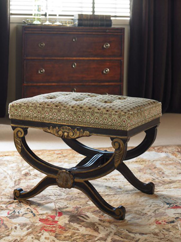 Century Furniture - French Footstool - 3919B