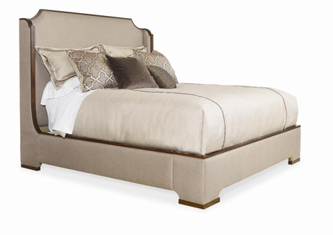Image of Upholstered Bed