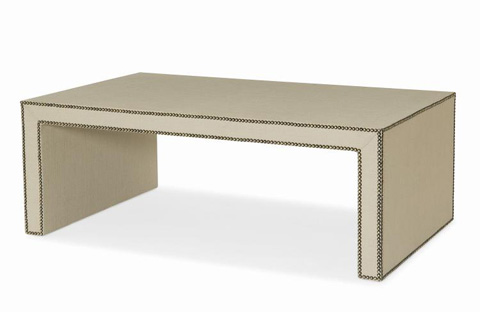 Century Furniture - Fully Upholstered Cocktail Table - 499-610U