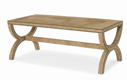 Century Furniture - Fully Upholstered Cocktail Table - 499-611U