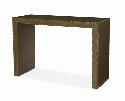 Image of Fully Upholstered Console Table