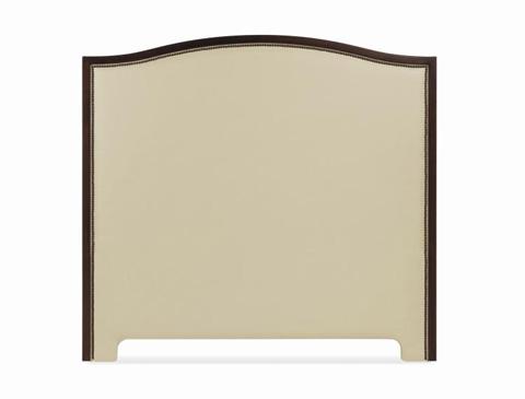 Century Furniture - King Wood Arch Upholstered Headboard - 88-009K