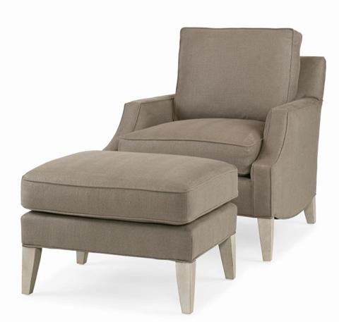 Century Furniture - Lancaster Ottoman - ESN261-12