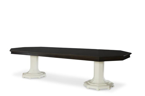 Image of Lexington Double Pedestal Dining Table