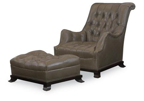 Century Furniture - Joshua Leather Chair - LR-18252