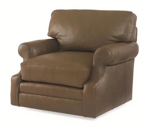 Century Furniture - Leatherstone Swivel Chair - LR-7600-8
