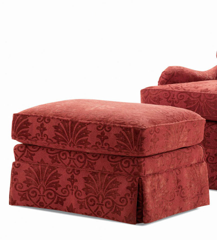 Century Furniture - Griffin Ottoman - LTD166-12
