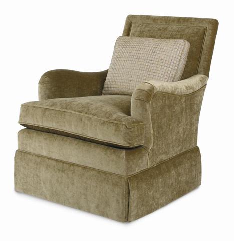 Century Furniture - Joel Skirted Swivel Glider - LTD5171-9SK