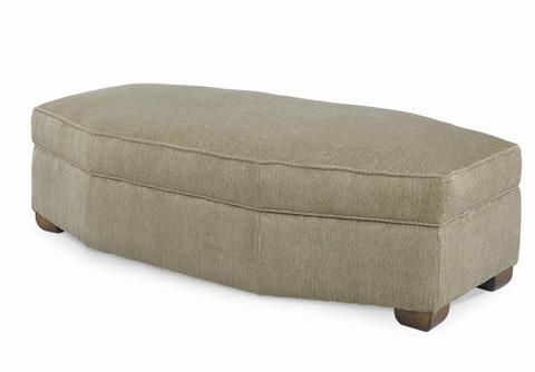 Century Furniture - Cornerstone Wedge Ottoman - LTD7600-14
