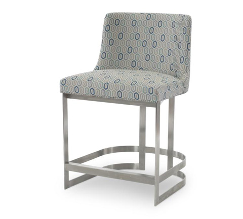 Century Furniture - Copenhagen Stainless Counter Stool - 3392C-1