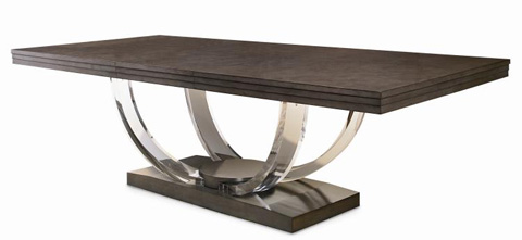 Century Furniture - Dining Table with Acrylic Legs - 559-303-A