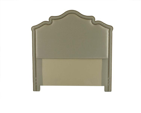 Century Furniture - Queen Headboard French Curve Bordered - 88-165QB