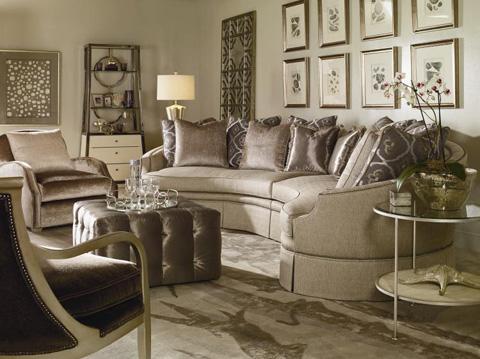 Century Furniture - Harmon Sectional - 44-8801/8802