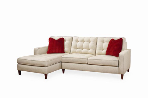 Century Furniture - Marc Sectional - ESN173-72/81