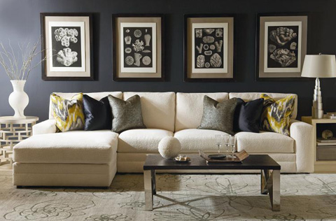 Century Furniture - Cornerstone Sectional - LTD7600-52/81