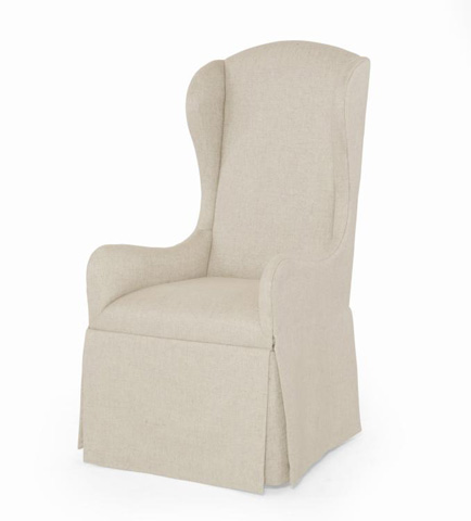 Century Furniture - Harmony Host Chair - 3386A-LINEN