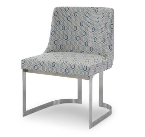 Century Furniture - Copenhagen Stainless Side Chair - 3388S-1
