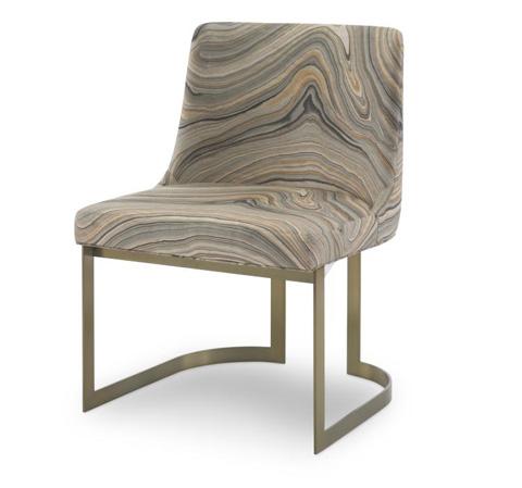 Century Furniture - Copenhagen Brass Side Chair - 3388S-2