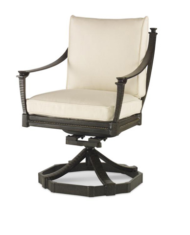 Image of Swivel Rocker Dining Arm Chair