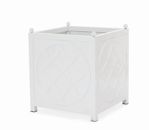 Image of Litchfield Planter - White