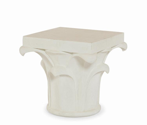 Century Furniture - Side Table - D89-5465-WH