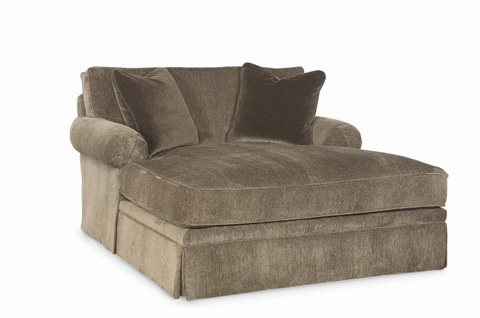 Century Furniture - Cornerstone Wide Chaise - LTD7600-5X