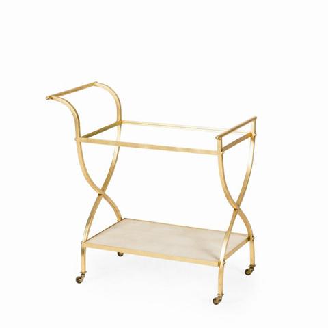 Century Furniture - Adele Bar Cart - MN5642
