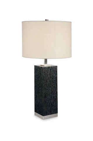 Image of Boissiere White Oak Table Lamp