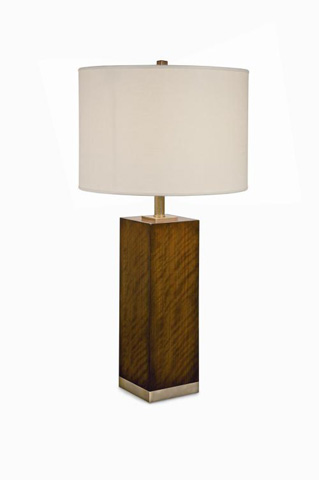 Image of Boissiere Walnut Table Lamp
